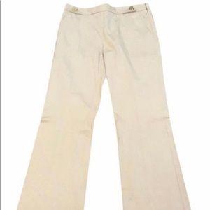 Tory Burch medium khaki Frederick pants